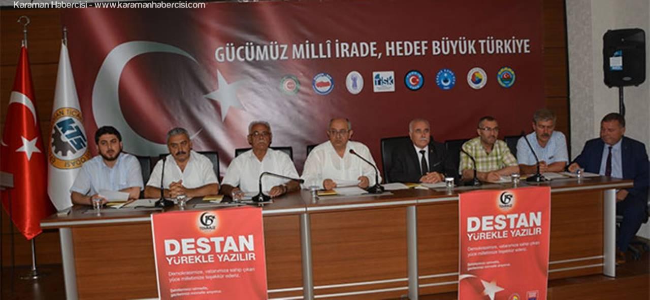 'Gücümüz Milli İrade, Hedefimiz Büyük Türkiye'