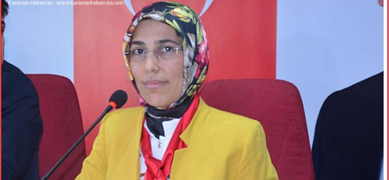 AK Parti Karaman Kadın Kolları Başkanı Ümit Gülin Göksoy'un 15 Temmuz Mesajı