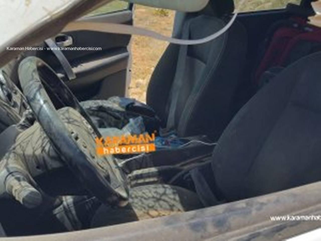 Şanlıurfa'ya Giden Aile Karaman'da Kaza Yaptı