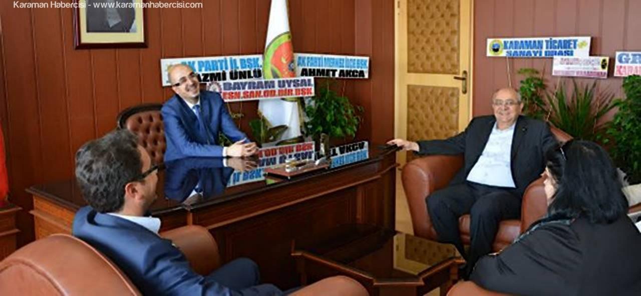 KTSO'dan Baro Başkanı Yılmaz'a Ziyaret