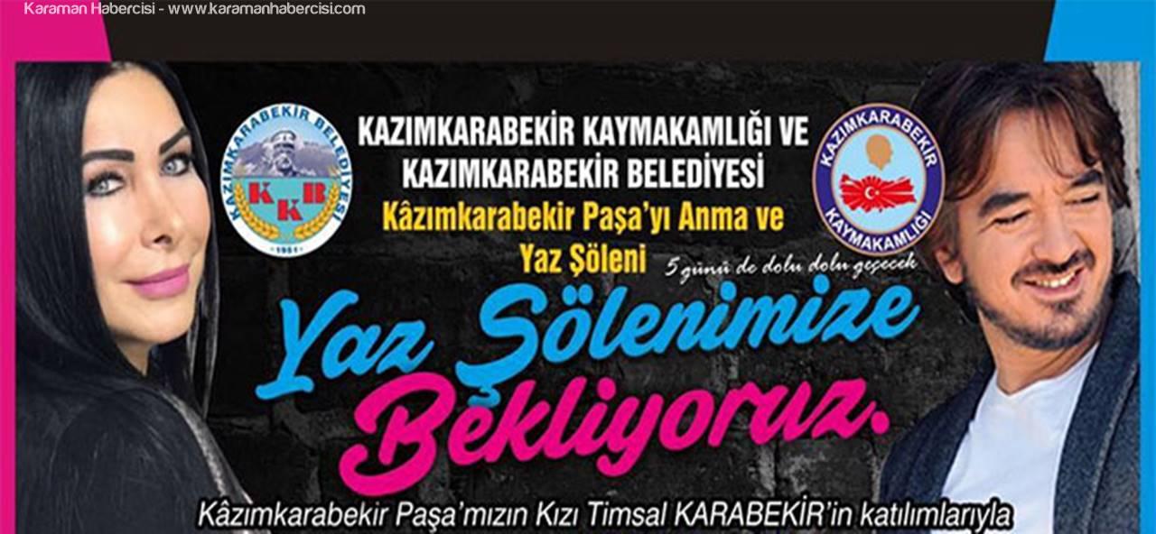 Kazımkarabekir'de Yaz Şöleni Etkinliği
