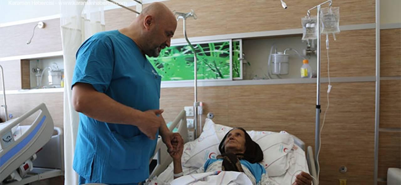 103 Yaşındaki Koca Çınar Ameliyat Oldu