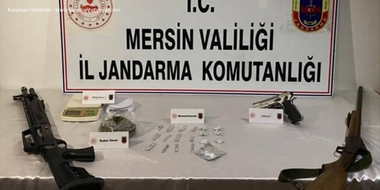 Mersin'de Uyuşturucu Operasyonunda Gözaltına Alınan 23 Zanlıdan 5'i Tutuklandı
