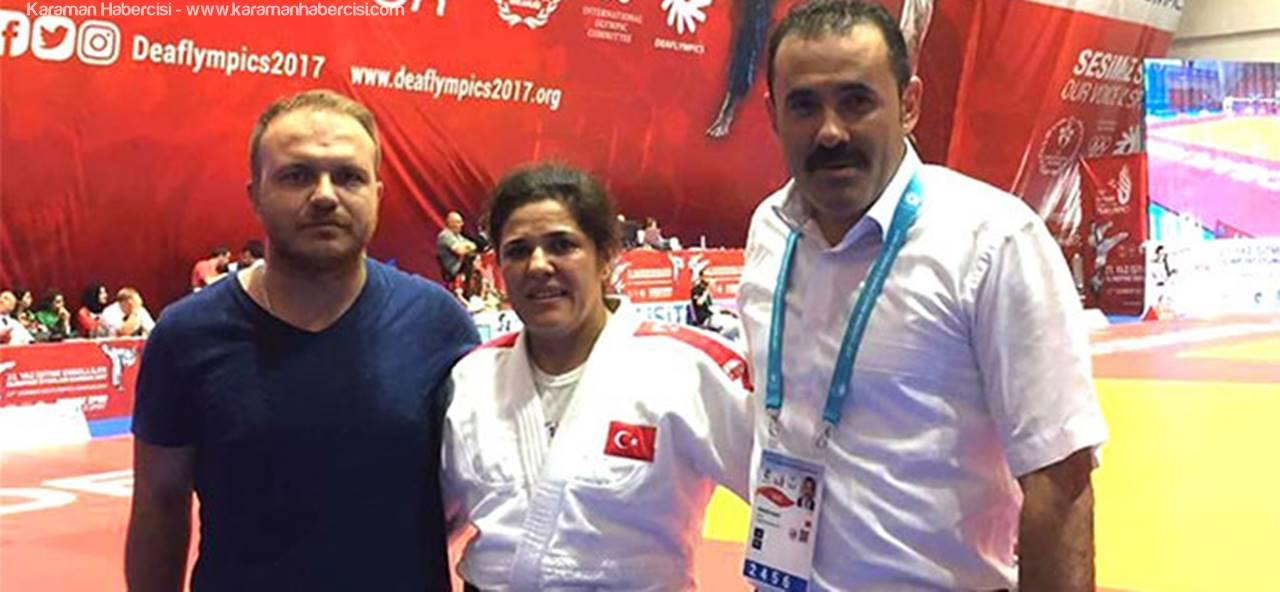 Karamanlı Judocu, Madalyasını Torununa Hediye Etti