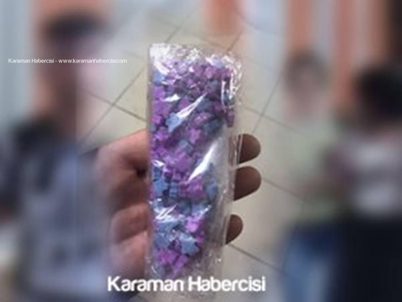 Karaman'da Zehir Tacirlerine Operasyon