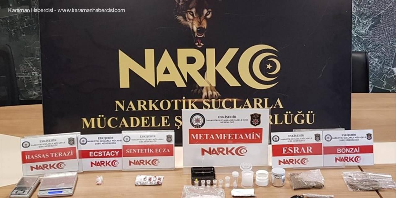 Eskişehir'de Uyuşturucu Operasyonunda 3 Şüpheli Tutuklandı
