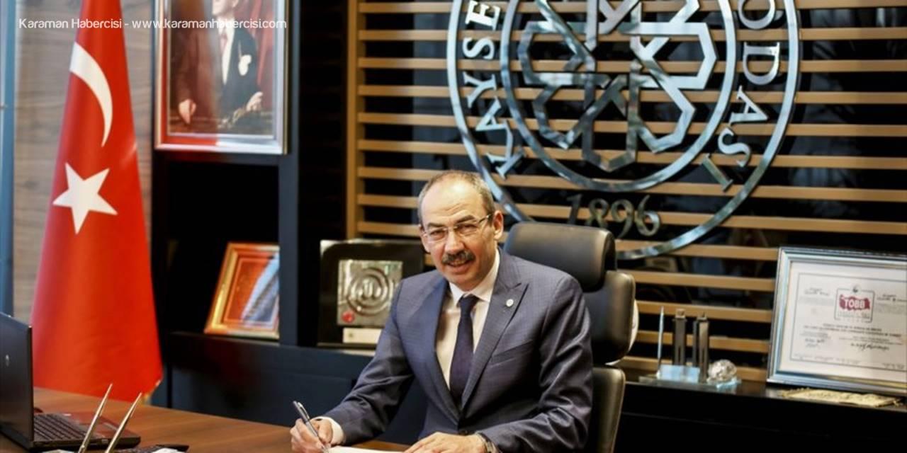 Kayseri Ticaret Odası Başkanı Gülsoy, İhracat Rakamlarını Değerlendirdi:
