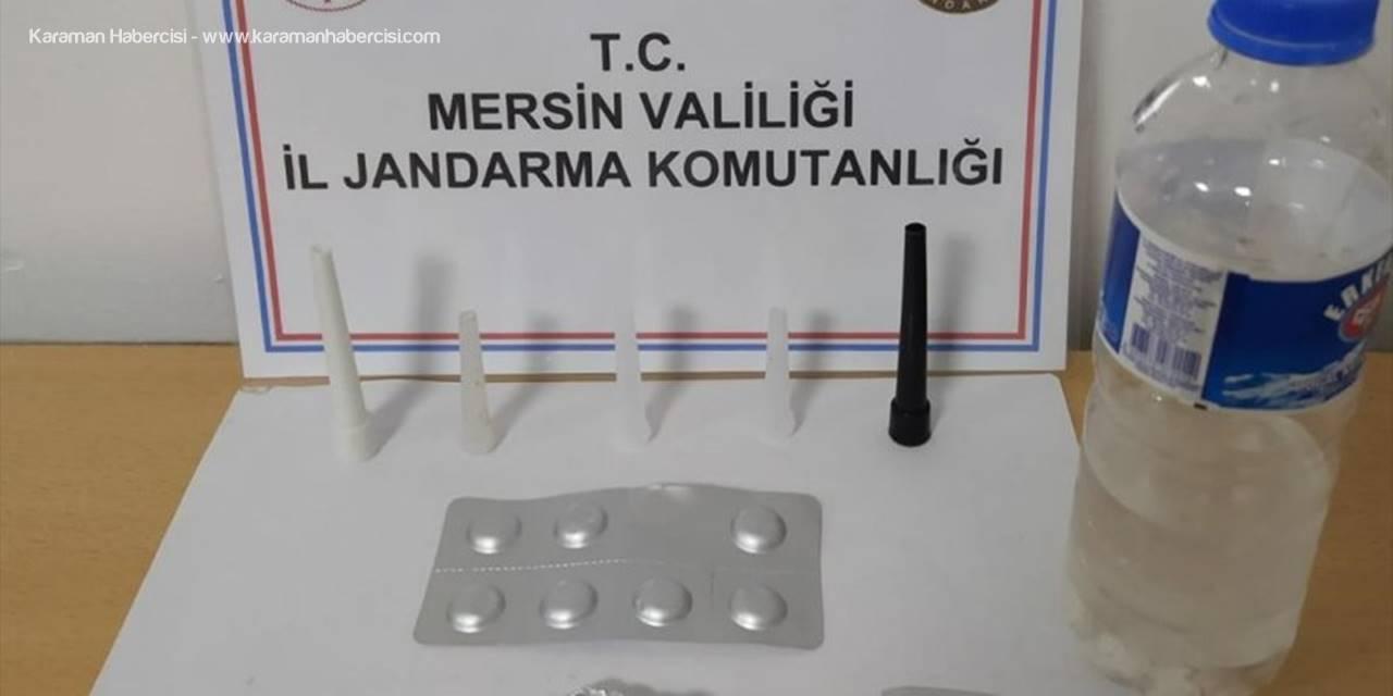 Silifke'de Uyuşturucu Operasyonunda 7 Şüpheliden 1'i Tutuklandı