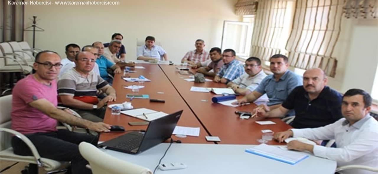 Karaman'da Kırsal Kalkınma İçin Projeler Değerlendirildi