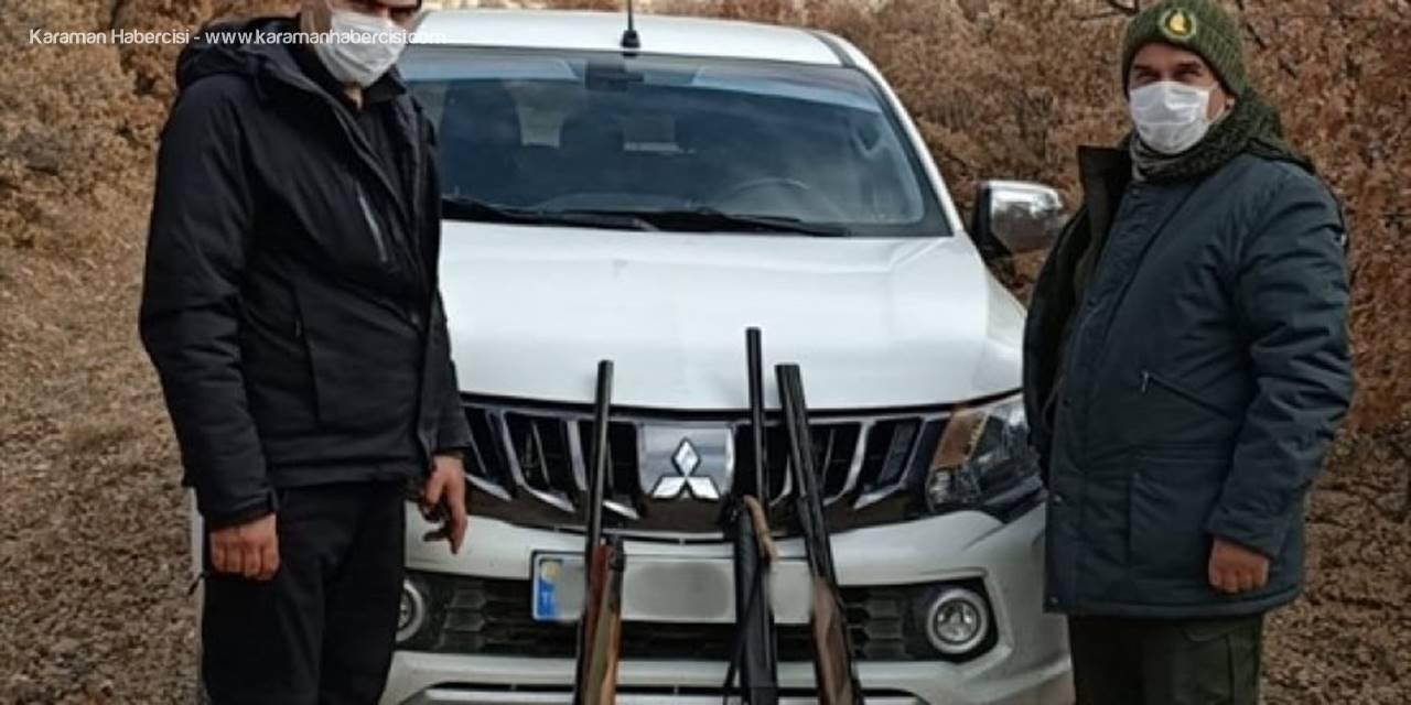 Beyşehir'de Kaçak Avlanan 6 Avcıya Para Cezası