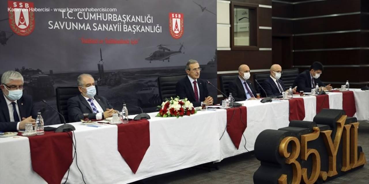 Savunma Sanayii Başkanı Demir, 2020 Değerlendirme Ve 2021 Hedefler Toplantısı'nda Konuştu