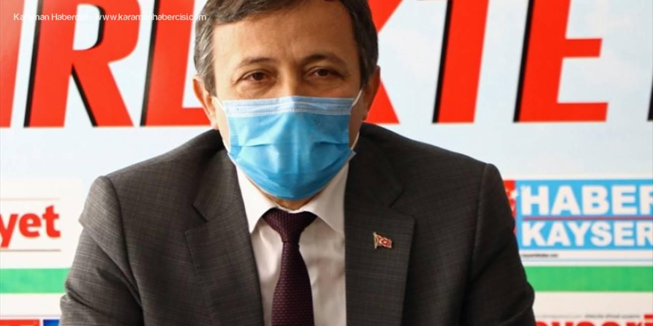 """ERÜ Rektörü Prof. Dr. Mustafa Çalış: """"Kameralı Sınav Korkulacak Bir Sistem Değil"""""""