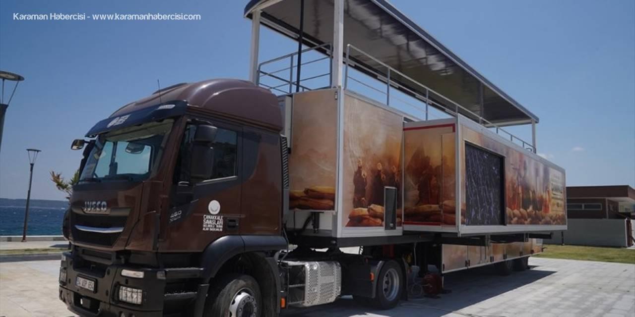 """""""Çanakkale Savaşları Mobil Müzesi"""" Gölbaşı'nda Ziyarete Açılacak"""