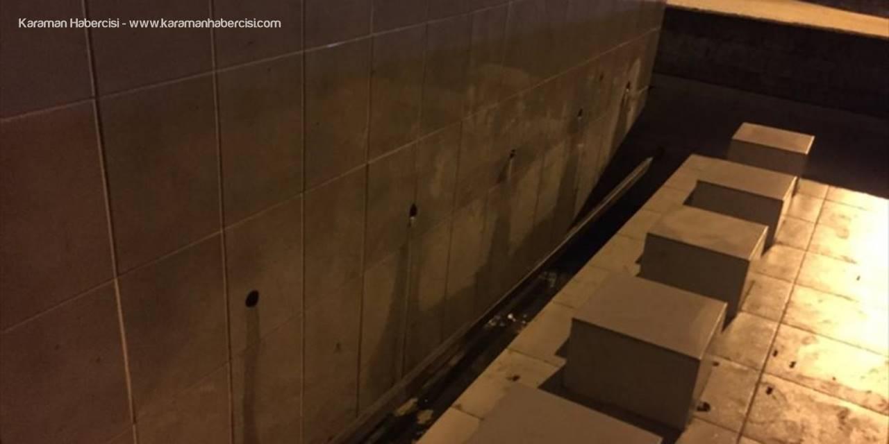 Serik'te Hırsızlar Mezarlıktaki Musluklara Dadandı