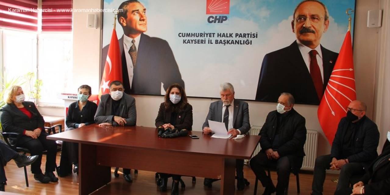 CHP Kayseri İl Başkanı Özer, Memur Ve Emekli Maaş Zammını Eleştirdi