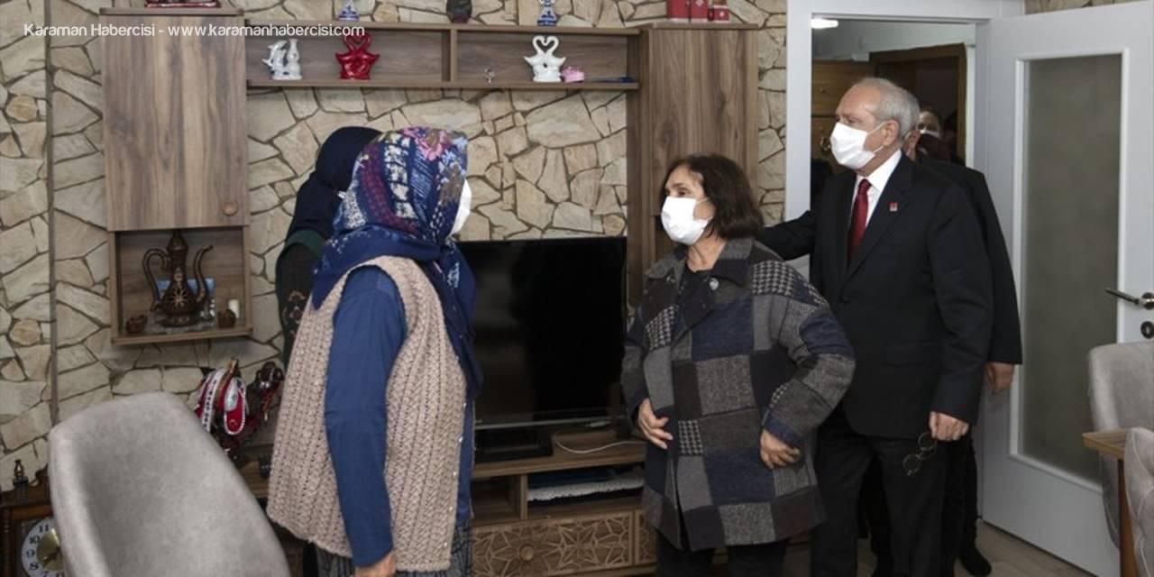 CHP Genel Başkanı Kılıçdaroğlu, Yakın Korumasına Taziye Ziyaretinde Bulundu