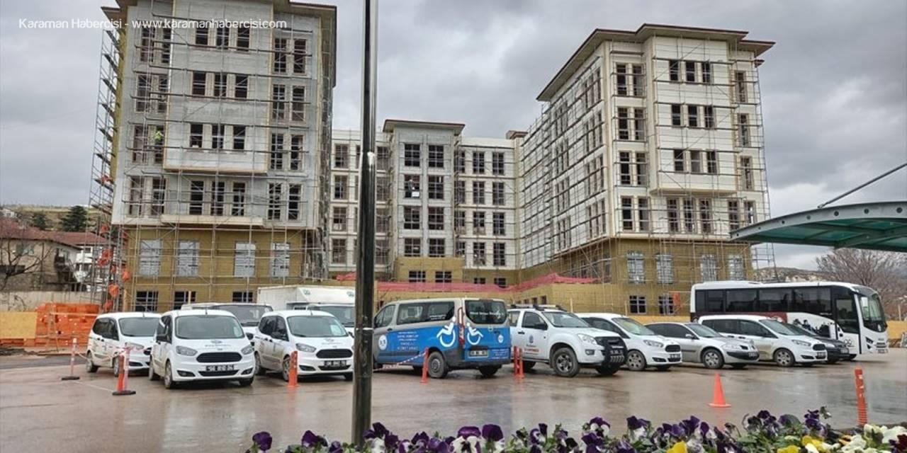 Beypazarı Belediyesi'nin Yeni Hizmet Binası Tamamlanmak Üzere