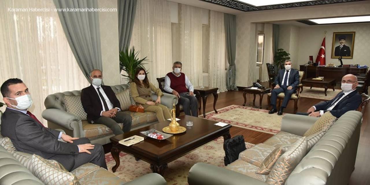 KAREV'den Vali Mehmet Alpaslan Işık'a Ziyaret