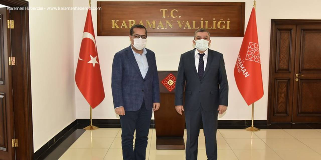 Genel Müdür Ahmet Dilsiz'den Vali Mehmet Alpaslan Işık'a Ziyaret