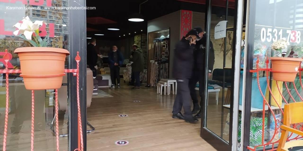 Konya'da Damat Dehşet Saçtı