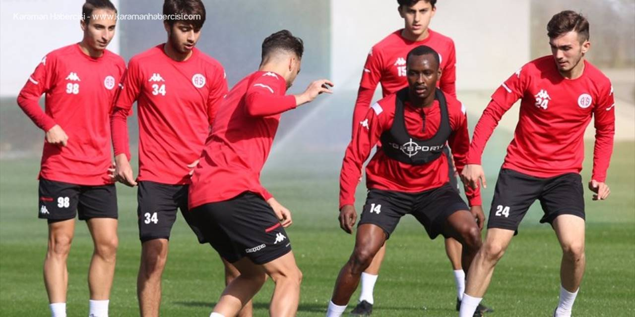 Antalyaspor'da Trabzonspor Maçı Hazırlıkları Başladı