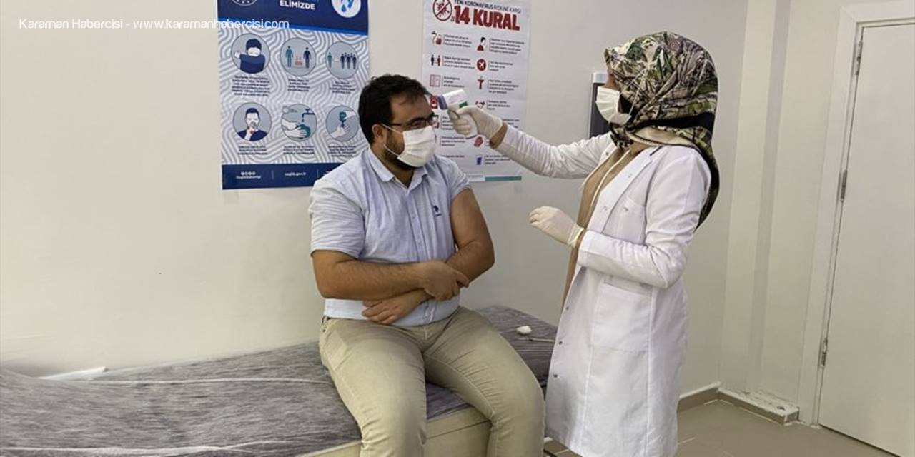 Eskil İlçesinde Sağlık Çalışanlarına Coronavac Aşısının İlk Dozu Yapılmaya Başlandı