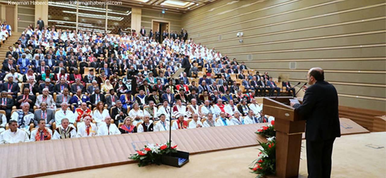 Rektör Akgül İslam Ülkeleri  Rektörler Forumuna Katıldı