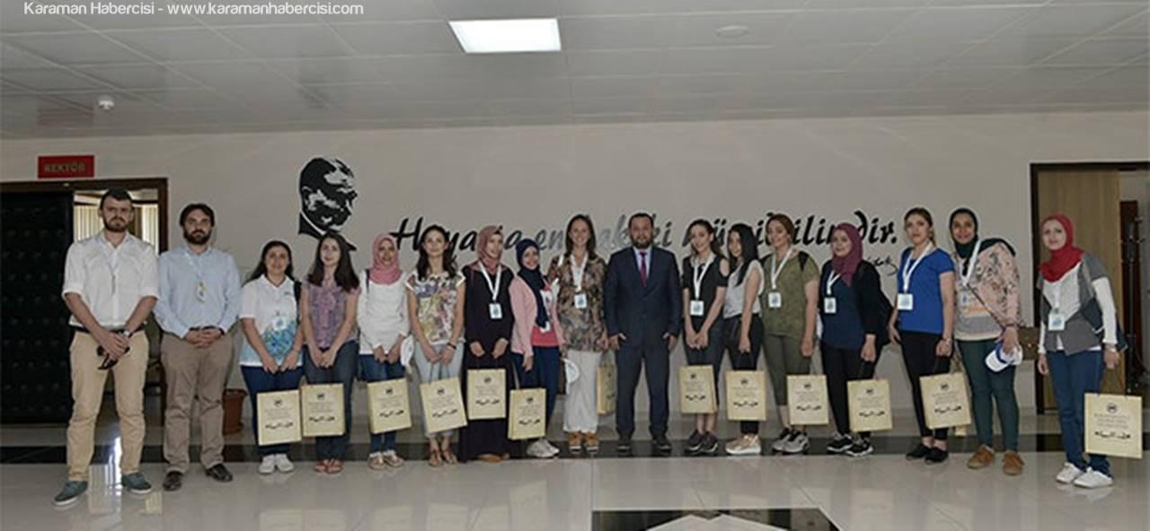 Rektör Akgül'ün Misafirleri 'Yabancı Uyruklu Öğrenciler'