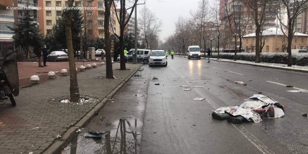 Konya'da Genç Gazete Dağıtıcısı, Kazada Hayatını Kaybetti