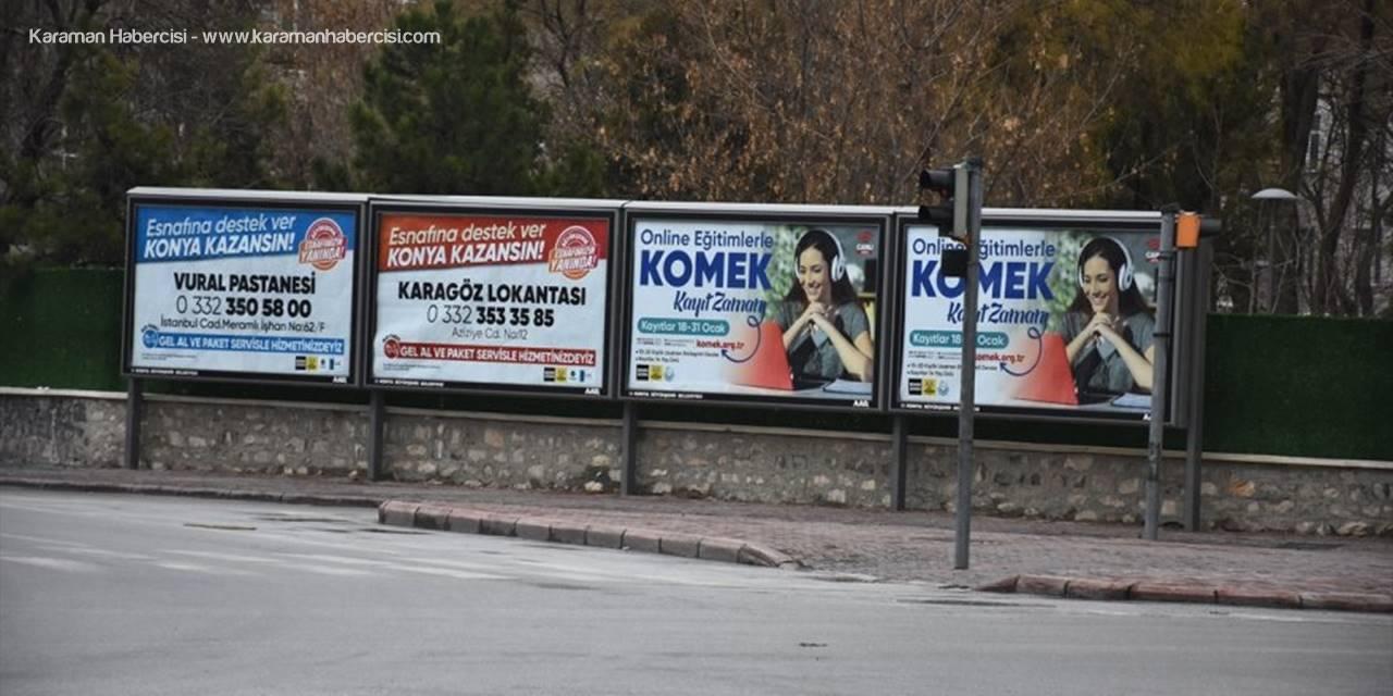 Konya'da Belediyeden Esnafa Tanıtım Desteği