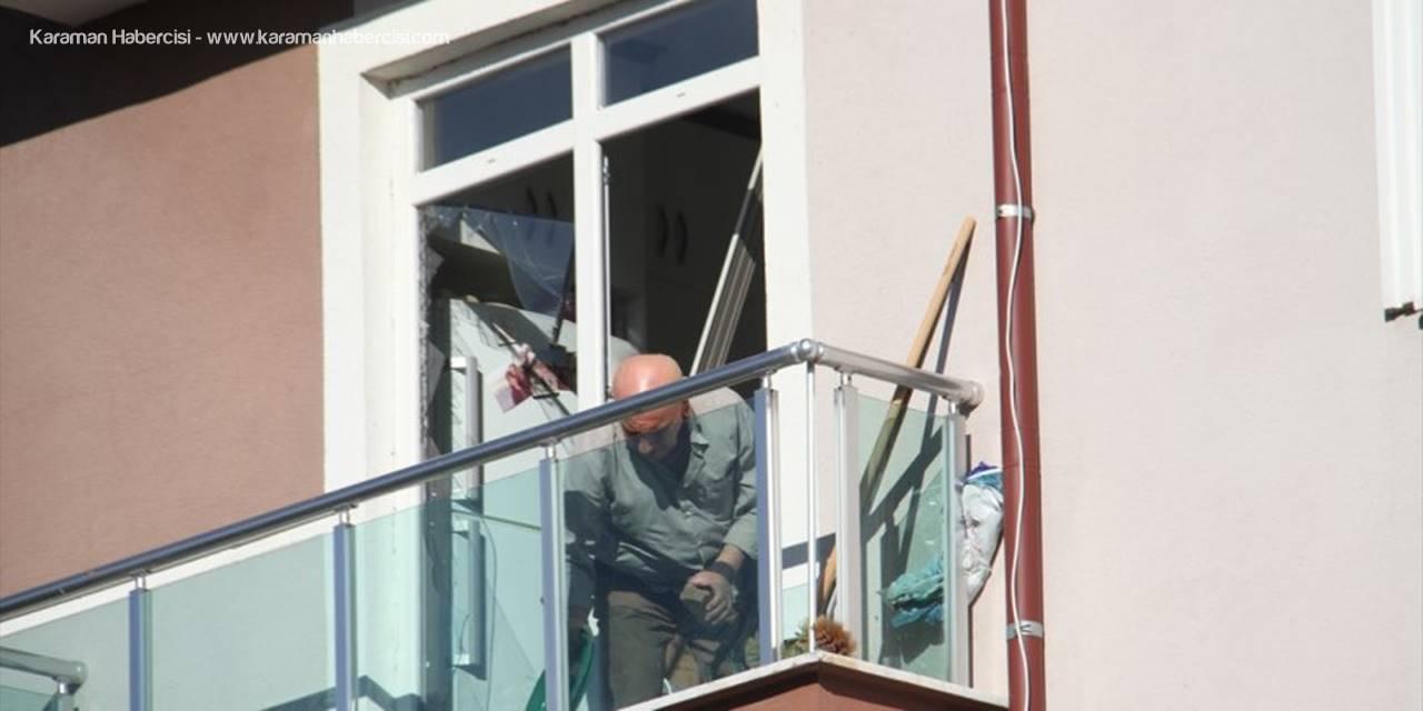 Beyşehir'de Mutfak Tüpü Patladı: 1 Yaralı