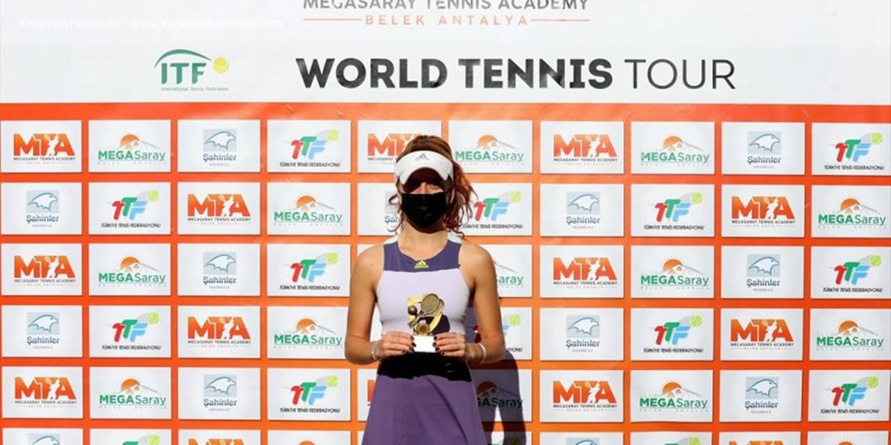 Tenis: Itf Turnuvası W15 Antalya