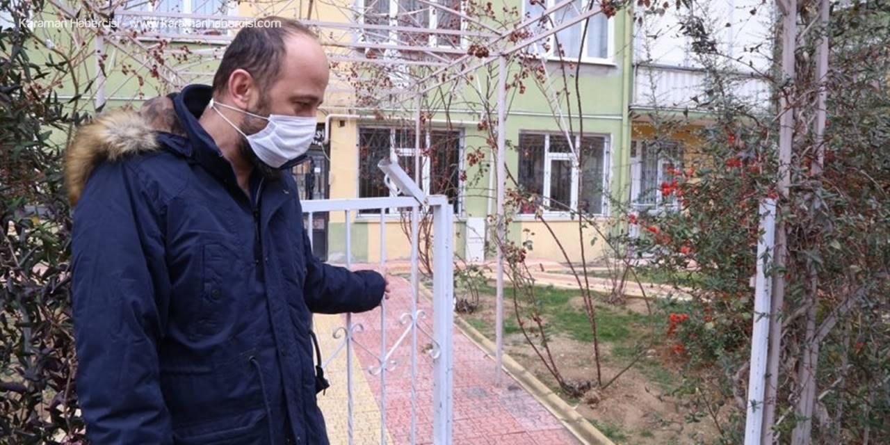 Konya'da Bahçe Kapısı Çalınan Sitenin Sakinleri Şaşkınlıkla Tedirginliği Bir Arada Yaşıyor