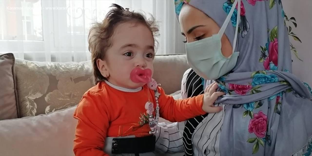 Konya'da Özşen Çifti, Enzim Hastası Kızlarının Tedavi İçin Yardım Eli Bekliyor