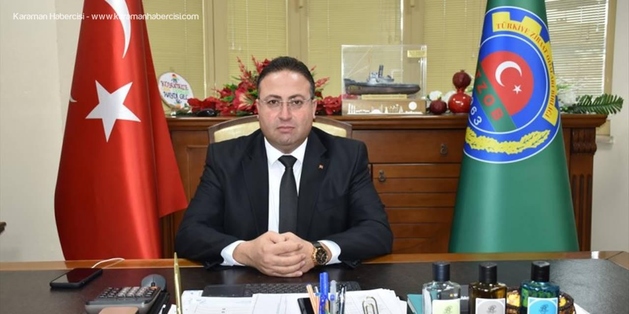 Tarsus Ziraat Odası Başkanı Avcı'dan 2020 Yılı Değerlendirmesi