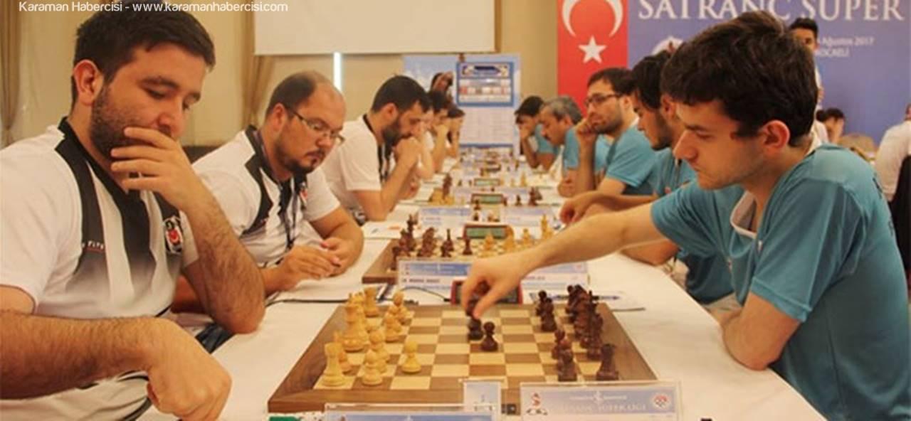 Satrançta Kazanan Karaman Belediye Spor