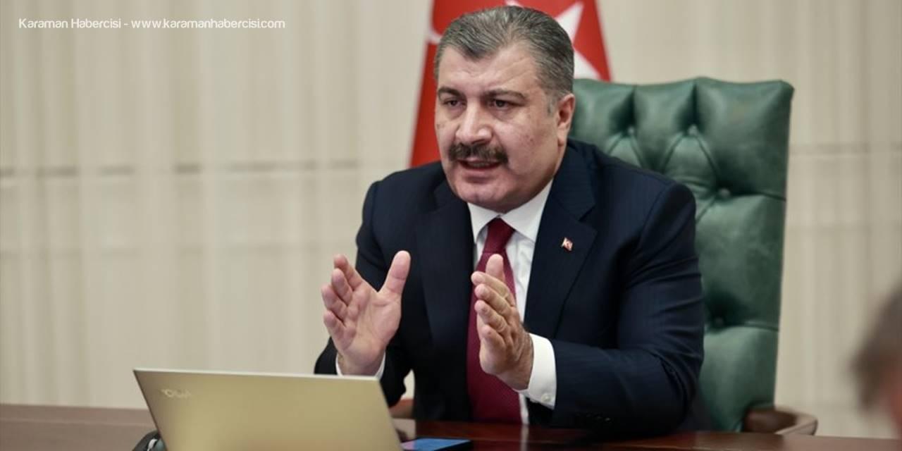 Sağlık Bakanı Koca, 830 Bin Sağlık Çalışanının Kovid-19 Aşısının İlk Dozunu Olduğunu Açıkladı
