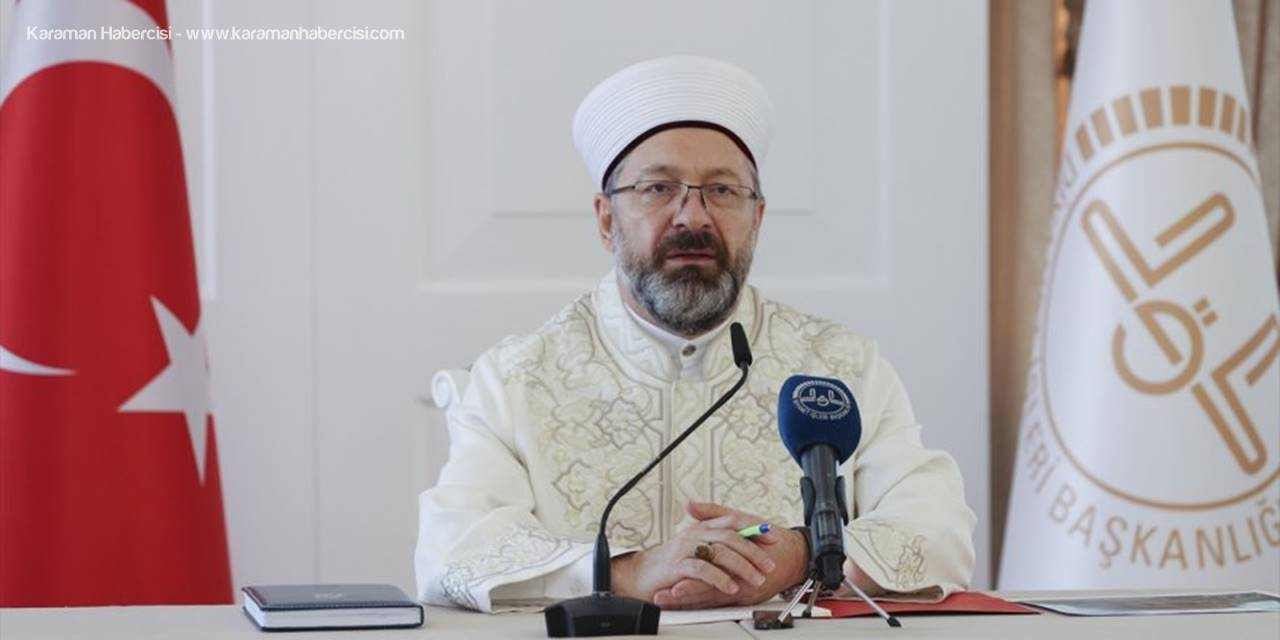 Diyanet İşleri Başkanı Erbaş, 39. İl Müftüleri İstişare Toplantısı'nda Konuştu