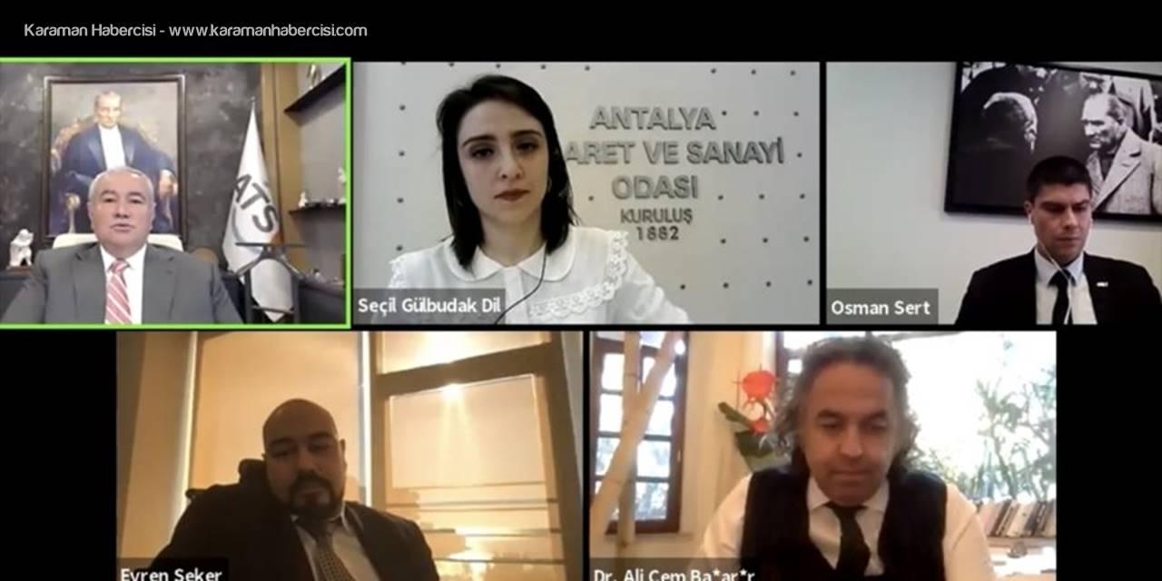 """Antalya'da """"İş Dünyasında Dijital Dönüşüm Ve Yapay Zeka"""" Çalıştayı Düzenlendi"""