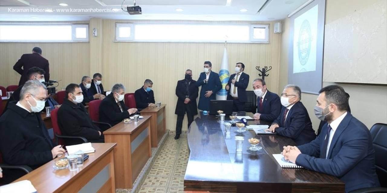 Başkan Büyükkılıç, Tomarza'da Toplantıya Katıldı