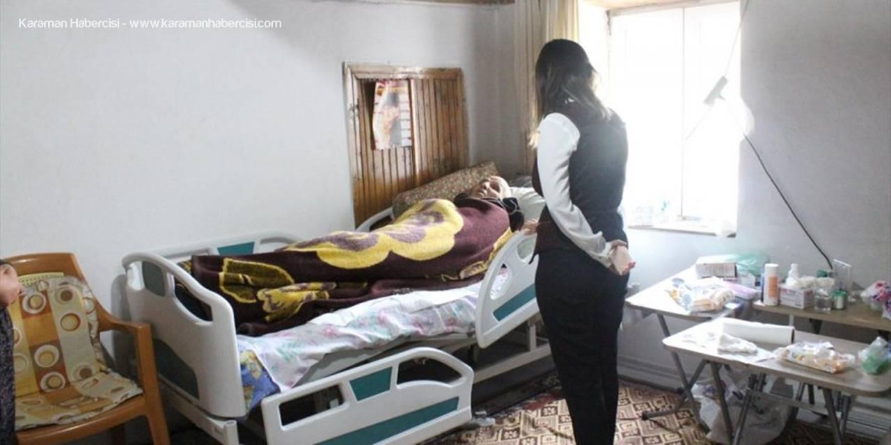 Kaş Belediyesinden 28 Hastaya Yatak Yardımı