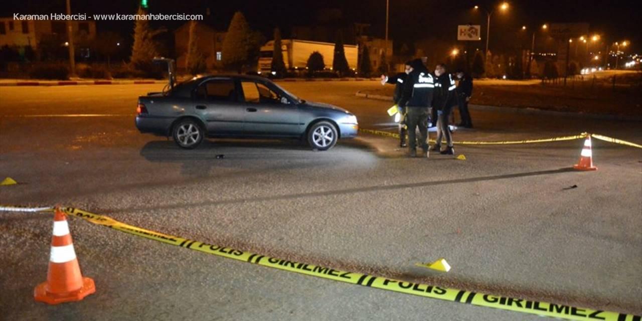 Karaman'da Yaşanan Kavgada 2 Kişi Yaralandı