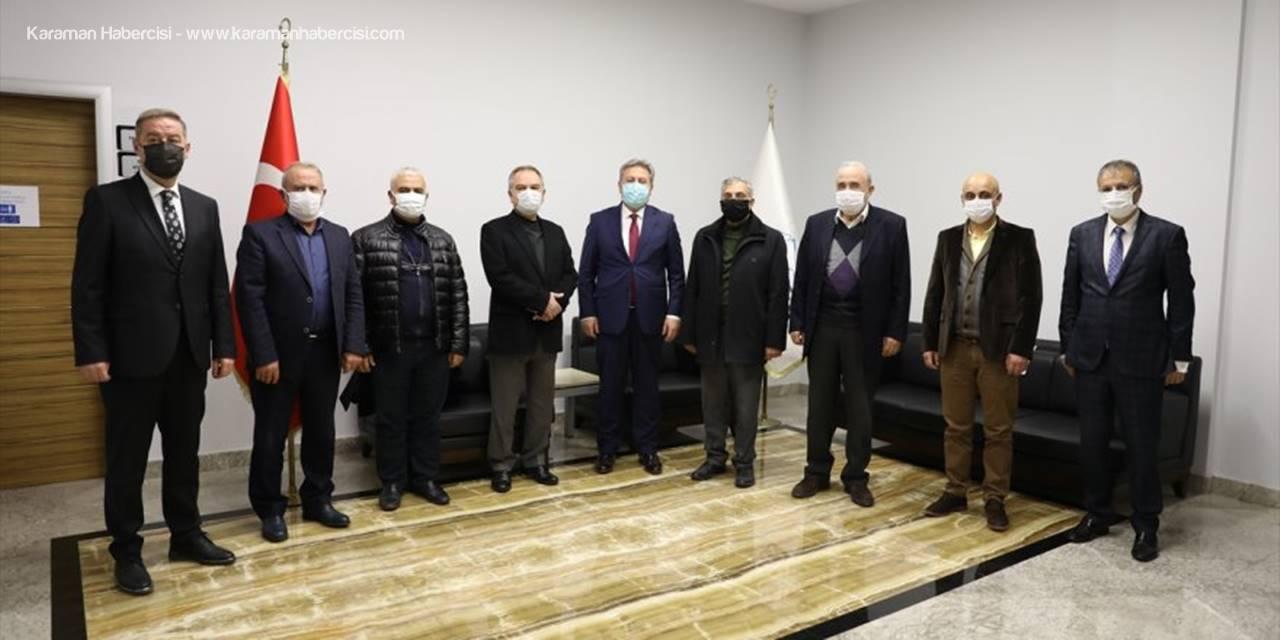 Başkan Palancıoğlu, Kayseri Serbest Bölge'yi Ziyaret Etti