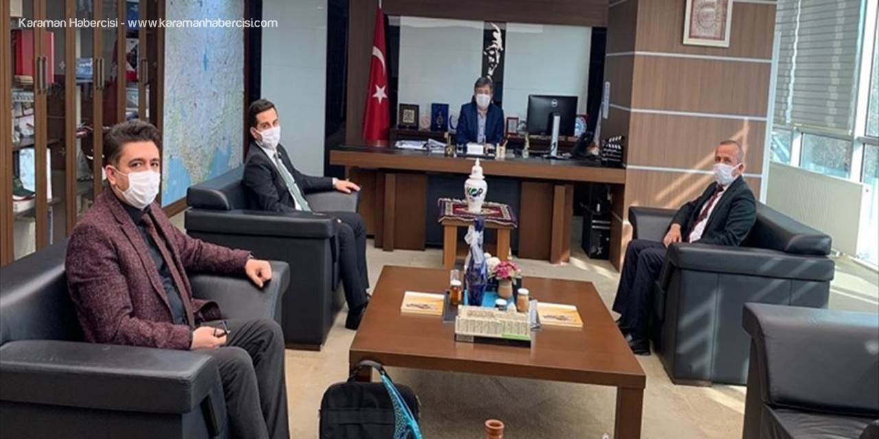 Yalıhüyük Heyeti, Kop Başkan Vekili Tongur'u Ziyaret Etti