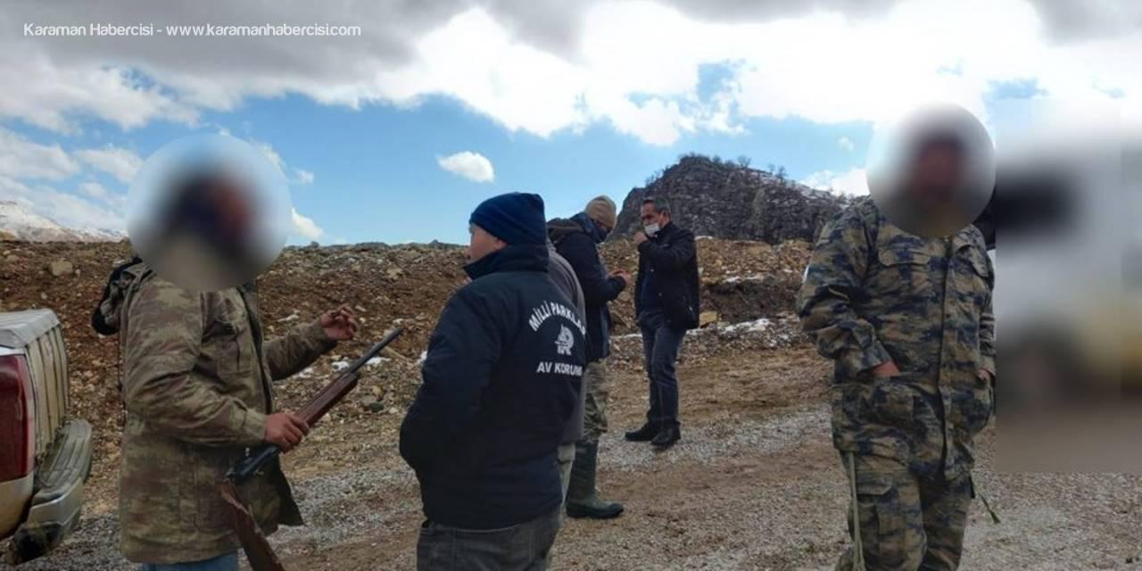 Karaman'da Usulsüz Avlanmaya Müsaade Edilmedi
