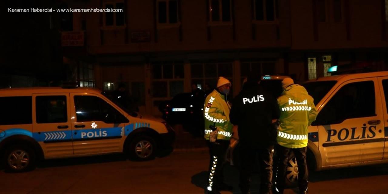 Kayseri'de Sokağa Çıkma Kısıtlamasını İhlal Eden Şüpheli Uyuşturucuyla Yakalandı