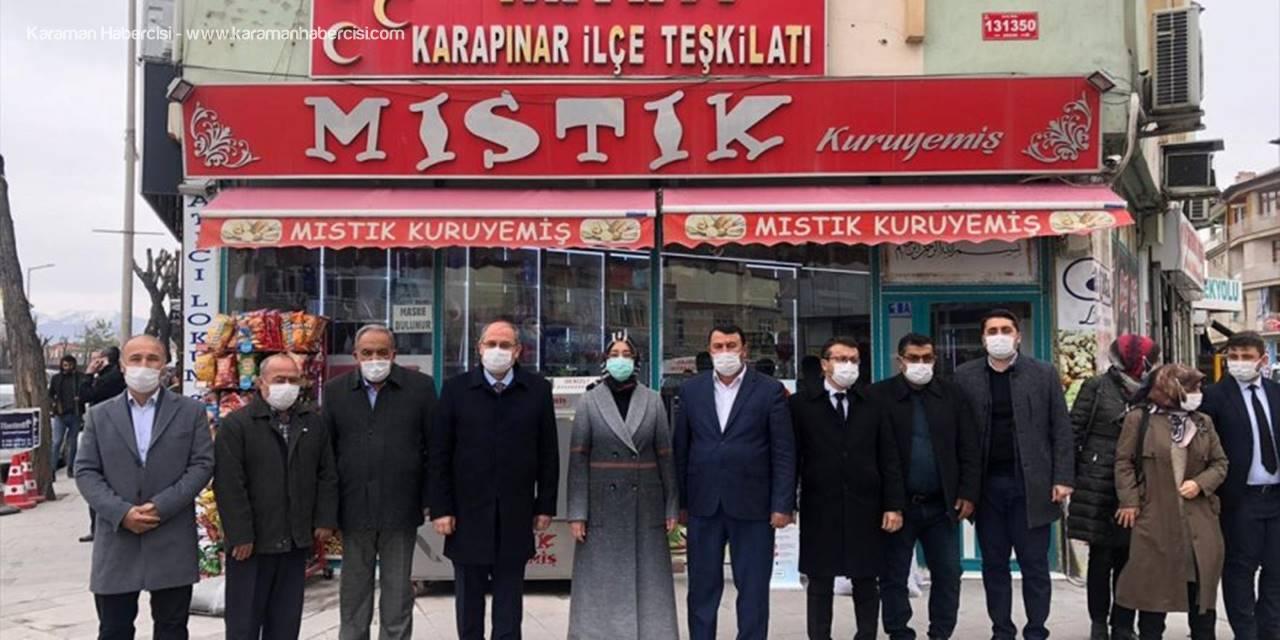 AK Parti Milletvekili Gülay Samancı, Karapınar'da