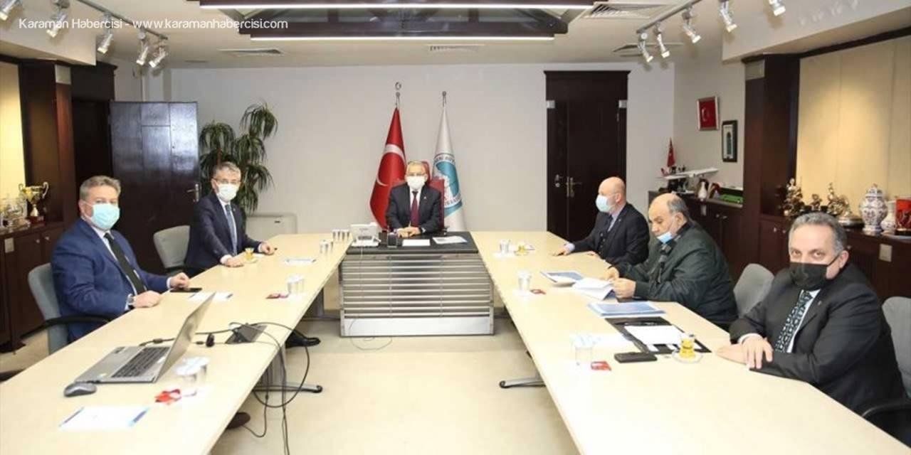 Kayseri Büyükşehir Belediyesi'nde İstişare Toplantısı Yapıldı
