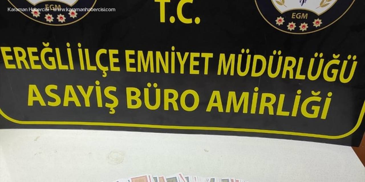 Konya'da Kovid-19 Tedbirlerini İhlal Edip Kumar Oynayan 6 Kişiye Para Cezası Kesildi