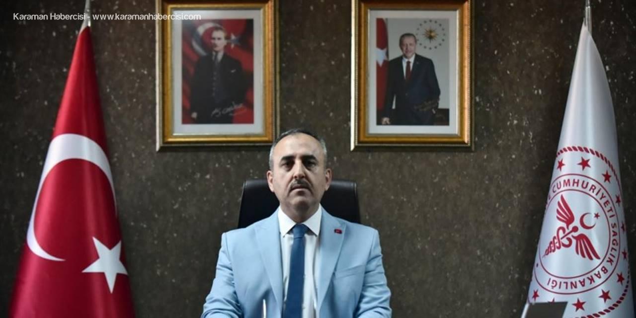 Mersin İl Sağlık Müdürü Bahçacı, Kovid-19'u Atlatıp Görevine Döndü